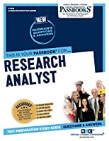 Research Analyst (Career Examination)