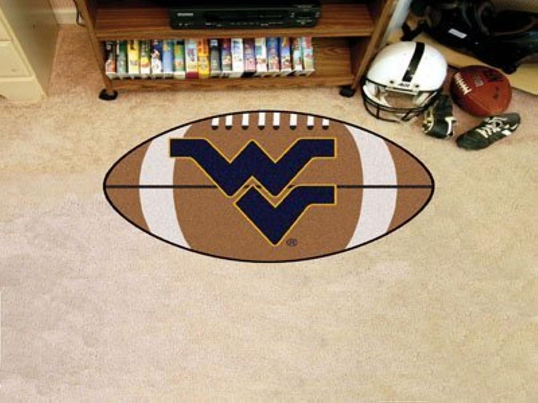 Fanmats Home Sports Team Logo Innen Fumatte West Virginia Fussball Teppich 55,9x 88,9cm von FanMats