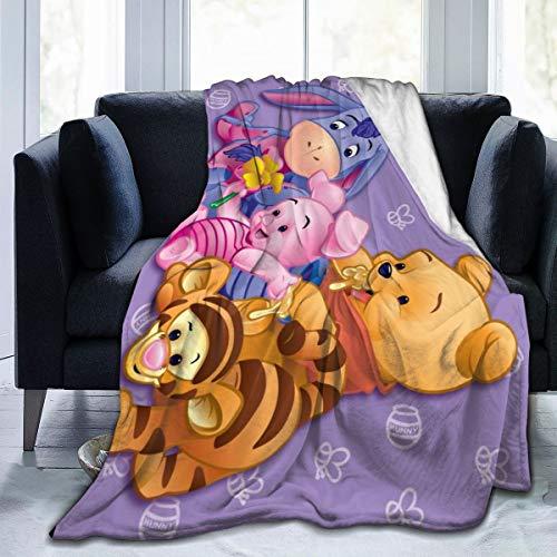 KANKANHAHA Winnie The Pooh Supernatural - Manta cama