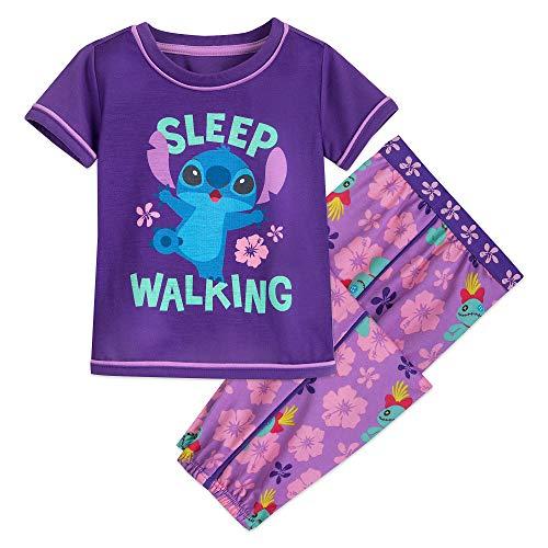 Disney Stitch PJ Set for Girls Size 3 Multi