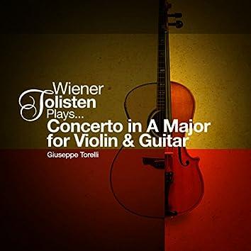 Wiener Solisten Plays... Concerto in a Major for Violin and Guitar
