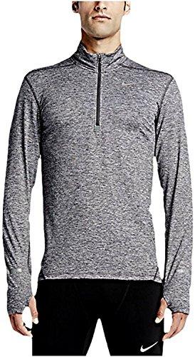 Men s Nike Dry Element Running Top Grey Heather - Medium