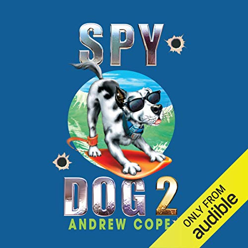 Spy Dog 2 audiobook cover art