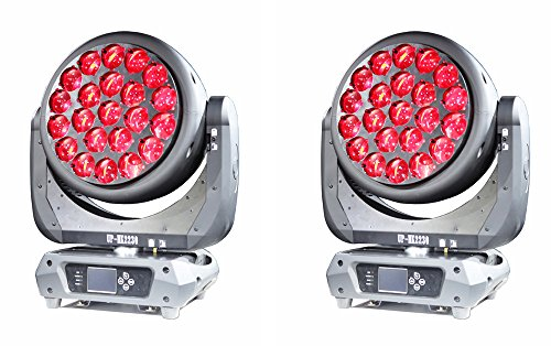 UpLight Led Moving Head Super bright high power 22x30W Hawk Eye RGBW 4in1 Stage Light for Theater, The Spring Festival Gala, TV station, Big Stage show,Party club, DJ, Disco, etc