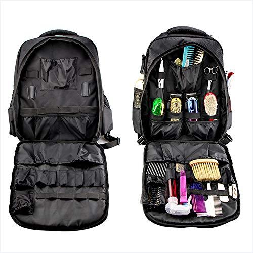 LSJZZ Barber Sac à Dos Sac à Dos Multifonctions Voyage Portable cosmétiques Boîte de Rangement Sac étanche de Stockage Artiste