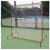 Patios Red de Rebote de Tenis portátil, Pared de Rebote para Tenis y Raqueta Deportiva de Pelota Deportiva, Cebolla de Tenis para Entrenamiento en Interiores y Exteriores