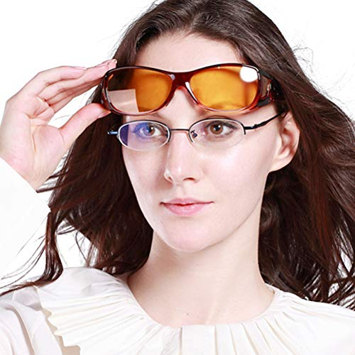 Duco Myopia Night Vision Glasses Specific For Night Driving Polarized 8953Y