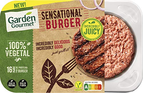 GARDEN GOURMET Sensational Burger Vegana Refrigerada, 226g