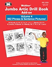 Webber Jumbo Artic Drill Book Add-On Volume 4: 992 Phrases & Sentence Pictures!