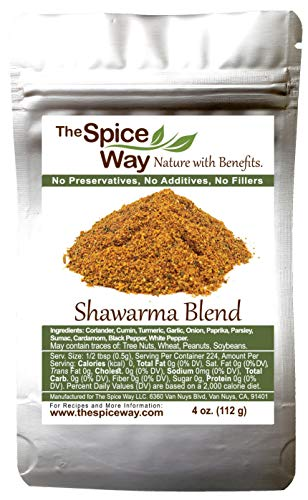 The Spice Way - Shawarma Blend Recipe Inside (meat and poultry rub/meat and poultry spice)- 4 oz