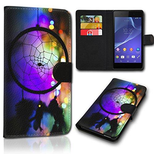 sw-mobile-shop Book Style ZTE Blade V6 Tasche Flip Brieftasche Handy Hülle Kartenfächer für ZTE Blade V6 - Design Flip SVH32