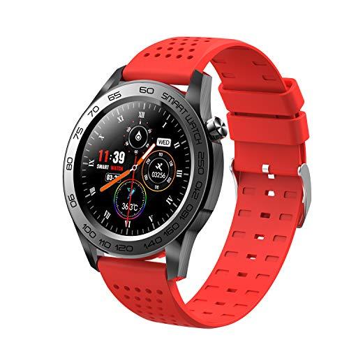 Relojes inteligentes para hombres y mujeres, reloj inteligente con pantalla táctil completa de 1.54 'para teléfonos Android y teléfonos iOS, podómetro a prueba de agua IP67, reloj Fitness Tracker co
