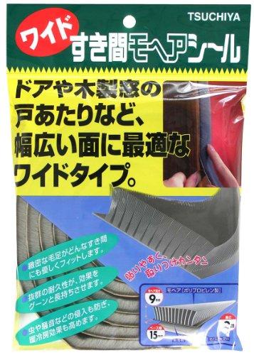 槌屋 槌屋 ワイドすき間モヘア 15×9×2m ツチヤNO15090グレー9X15X2