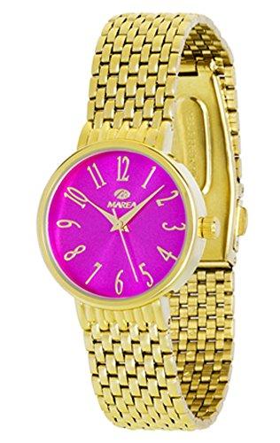 Reloj Marea Mujer B41147/7 Dorado y Fucsia