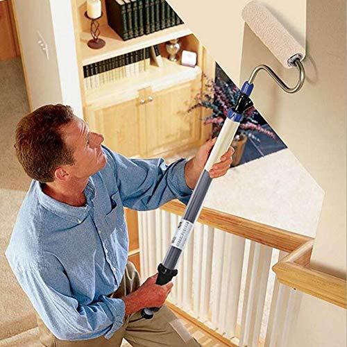HKDJ-Paint Roller,Stores Paint in Handle,Multifunktion Selbstansaugend Für Boden, Wand & Decke