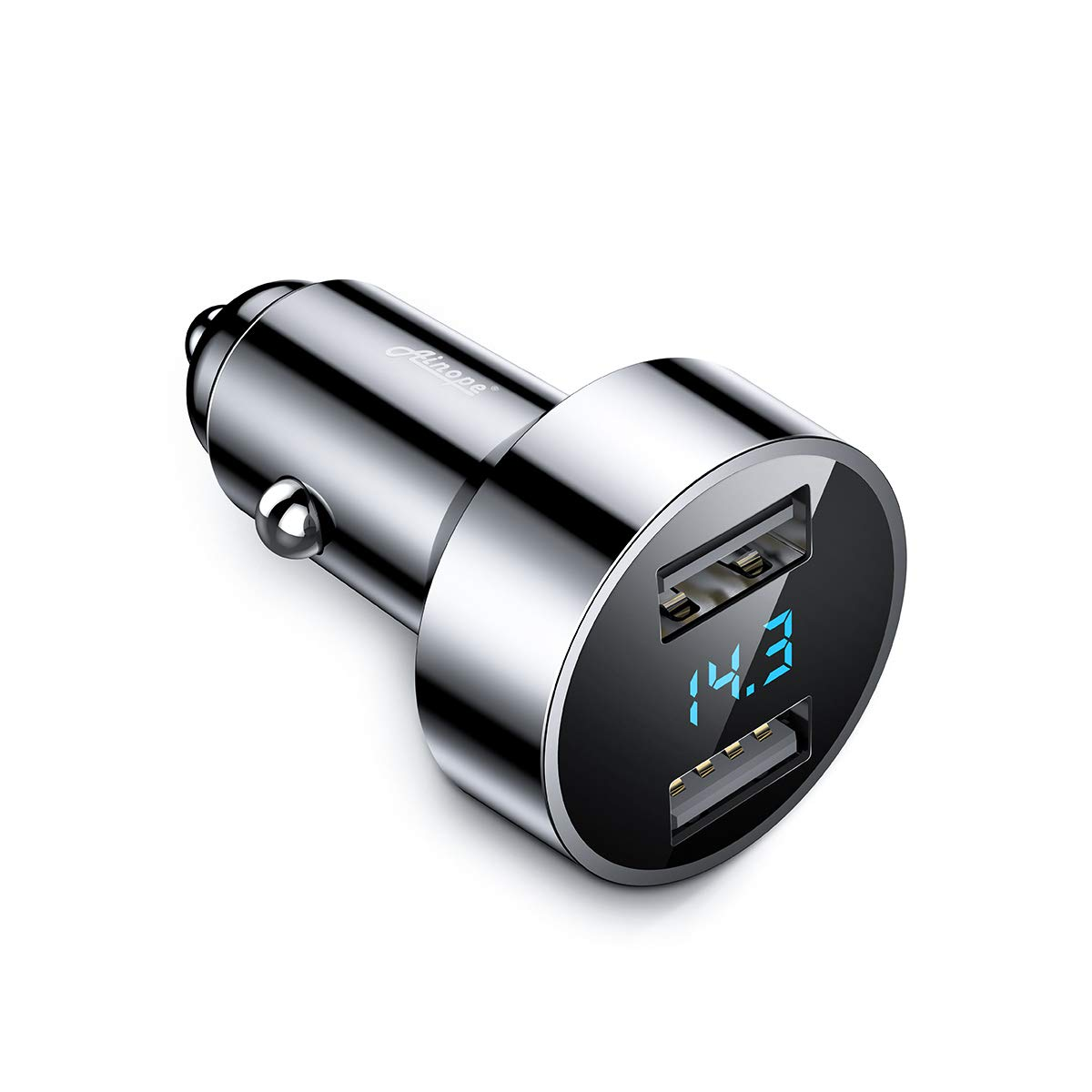Ainope Adapter Cigarette Lighter S8 Silver
