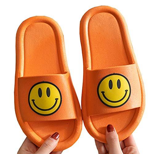XINN 笑顔スリッパ サンダル ラバーサンダル ラバーシューズ ビーチサンダル ビーサン ゴム レディース/メンズ/子供用 ぺたんこ フラット smile オープントゥ 海 プール 浴室スリッパ お風呂 トイレ お手洗い