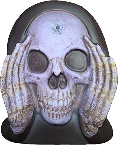 Scary Peeper Window Cling Reaper Peeping Tom Shocking Prank Creepy Halloween Decoration