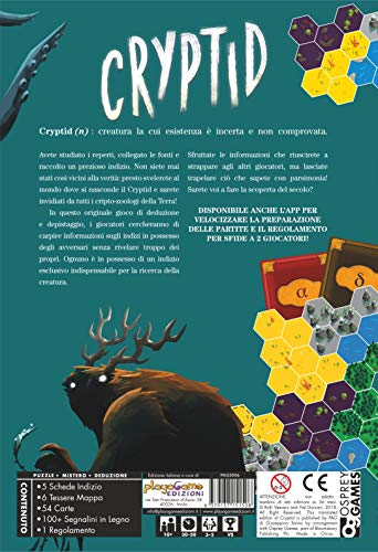 Playagame Edizioni- Cryptid, CRYP