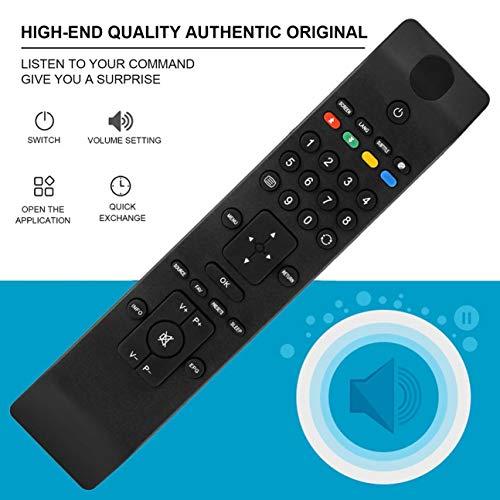 Telecomando universale universale Smart TV RC di ricambio per RC3902 TV Telecomando digitale senza fili TV digitale nero