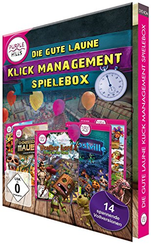 Die gute Laune Klick-Management Spielebox Standard, Windows Vista / XP / 8 / 7