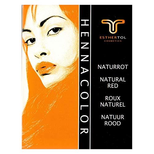 Tol Henna Color Polver Naturrot 85 Gramm