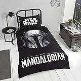 Coco Moon Baby Yoda Star Wars Mandalorian Kids - Juego de ropa de cama individual o doble, diseño de Star Wars