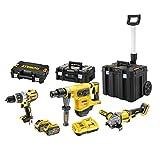 DeWalt DCK359X2T-QW FlexVolt - Juego de batería y batería (54 V, 9 Ah, DCD996, DCH481, DCG414)