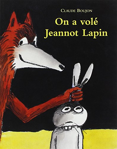 ON A VOLE JEANNOT LAPIN (BROCHE)