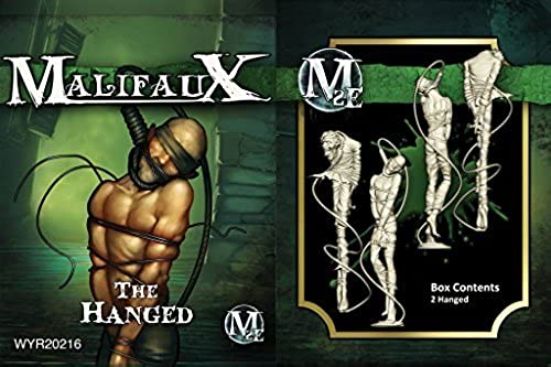 Wyrd Miniatures Malifaux Resurrectionists Hanged Model Kit (2 Pack) by Wyrd Miniatures