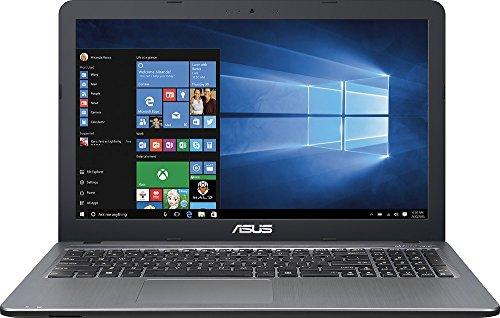 2016 ASUS VivoBook 15.6 Flagship Laptop, Intel Pentium N3700 Quad Core Processor up to 2.4 GHz, 4GB RAM, 500GB HDD 5400 RPM, SuperMulti DVD/CD, Webcam, HDMI, VGA, Windows 10, Silver
