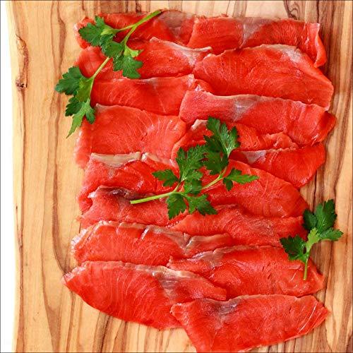 無添加 低塩 紅鮭 スモークサーモン 240g(80gx3)