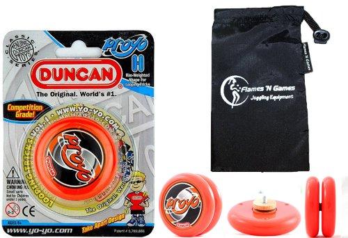 Duncan PROYO YoYo (Orange) Pro String Trick Yo Yo + Sac de Voyage! Pro Yo-Yo pour Les Enfants et Les Adultes!