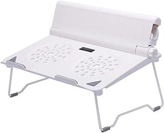 Mesa para portátil XIAO Mesa de la cama - Portátil de sobremesa Aumento de escritorio Almohadilla de oficina Soporte para computadora portátil Levantador portátil perezoso Base del radiador Plegable B