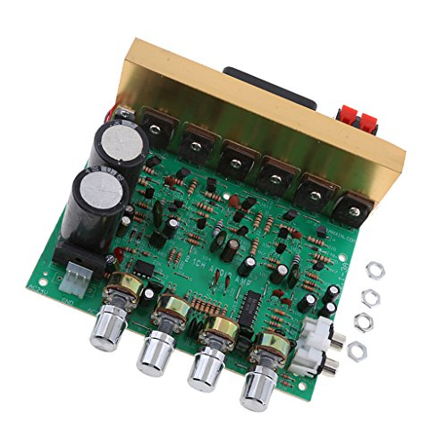 High Power HIFI Amps Circuit Amplify with Knob Subwoofer DIY Amplifiers Plate Support Bass Out
