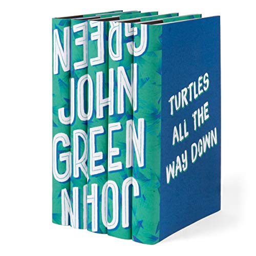Juniper Books John Green | Five-Volume Hardcover Book Set with Custom Designed Dust Jackets | Author John Green