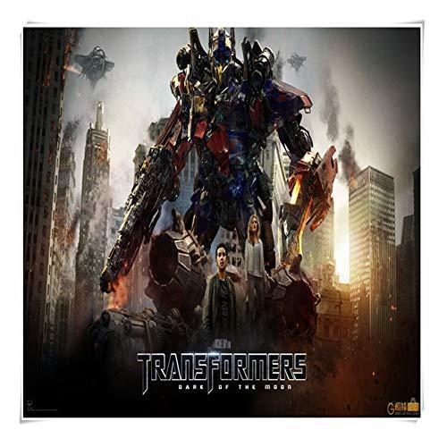 Juegos de Puzzles for Adultos y for niños, Animado de Transformers Optimus Prime Puzzles, 300 ~ 1000 Piezas en Caja Juguetes Arte del Juego P05/25 ( Color : B , Size : 1000pc )
