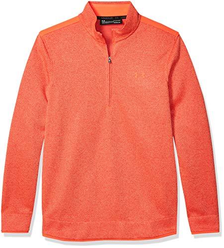 Under Armour SweaterFleece 1/2 Zip Cerniera a metà Lunghezza, Beta (628)/Beta, XXXL Uomo