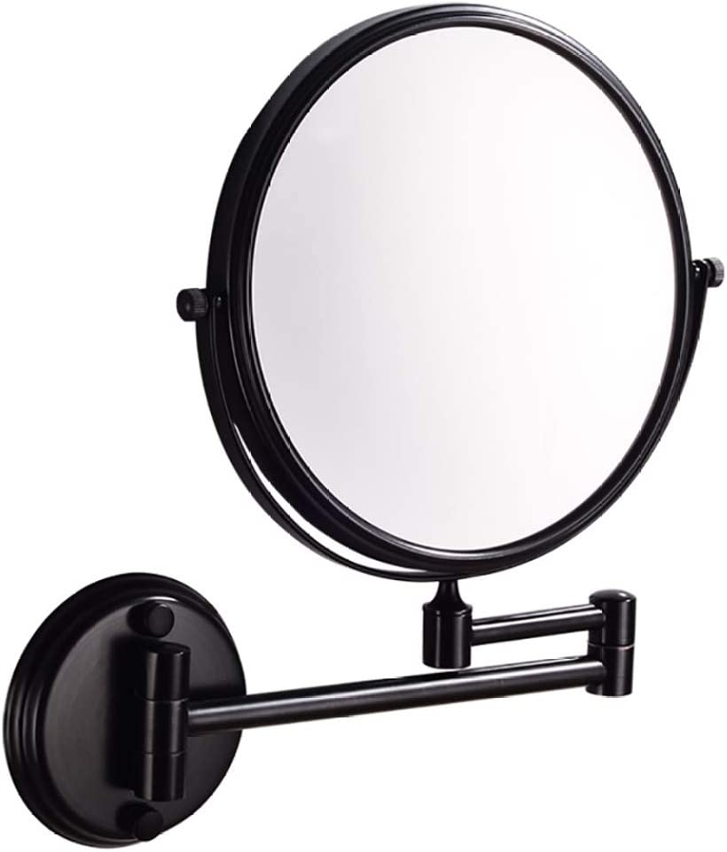 ELIUSI Wall Mount Makeup Mirror Magnifying Superlatite Two-Sided 3X Swivel Max 85% OFF