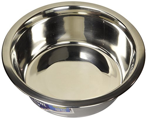 Dogit Stainless Steel Dog Bowl, Large-1.5-Liter (50-Ounce)
