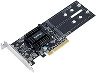 Synology NAS M2D18 Adapter für Dual M.2 SATA SSD NVMe