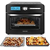 BOSCARE Air Fryer Toaster Oven, and Rotisserie Oven, Air Fry, Rotisserie, Roast, Broil, Bake, Reheat, and Dehydrate