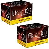 Kodak Ektar 100 Professional ISO 100, 35 mm, 36 Belichtungen, Farbnegativfilm (2 Stück)