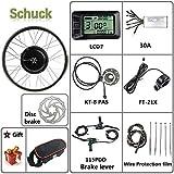 rueda electrica bicicleta 20 pulgadas