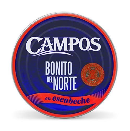 Campos, Conserva de Bonito del norte en escabeche tradicional - lata de 266 gr.