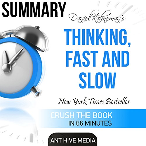 Daniel Kahneman's Thinking, Fast and Slow Summary audiobook cover art