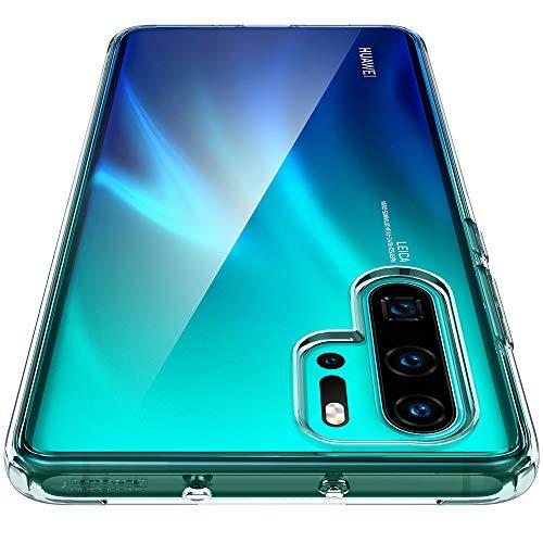 Spigen, Funda Compatible con Huawei P30 Pro 2019 / P30 Pro New Edition [Ultra Hybrid] Tecnología de cojín de Aire y protección híbrida de la caída [Transparente] L37CS25728