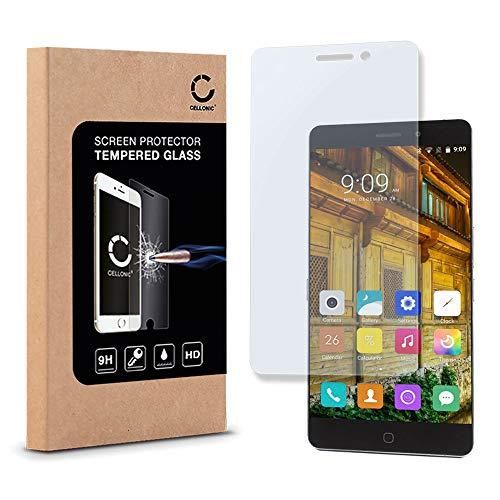 CELLONIC® Cristal Protector de la Pantalla Compatible con Elephone P9000 (2.5D, 0,33mm,...