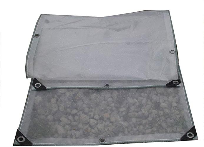 KYSZD-Baches Bache en polyéthylène Transparente Bache 0.3mm épais PE Imperméable Anti-intempéries Résistant aux UV Isolation De Plein air Toile de Sol Couvre la Toile