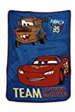 Disney Coral Fleece Blanket, Cars Taking The Race, 30x45 Inch (Pack of 1)